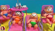 Peppa Pig e George Ônibus de Atividades | Turma da Mônica Brinquedos Toys Juguetes Em Português BR - YouTube