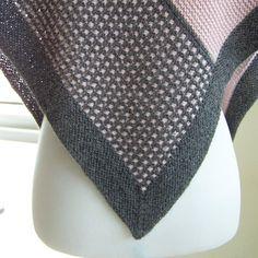 Pink Graphite Knitting pattern by Melanie Rice Christmas Knitting Patterns, Crochet Patterns, Crochet Ideas, Flower Patterns, Garnstudio Drops, Crochet Fall, Crochet Flower, Blue Sky Fibers, Baby Scarf