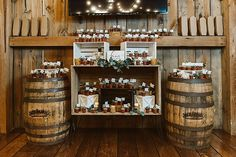 Mandi and Jeremiah's Rustic Elegant Michigan Barn Wedding by Jean Smith Photography Boho Wedding, Wedding Blog, Jean Smith, Rustic Elegance, Favours, Wedding Details, Liquor, Michigan, Barn