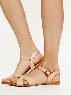 Much like the Saltwater Sandals I used to wear as a child. Avalon Sandal by Free People.