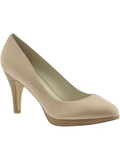 Nine West at piperlime.com $79.00 'Selene' - cute and classic nude colored heels