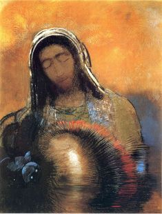 Buddha - Odilon Redon - WikiArt.org - encyclopedia of visual arts
