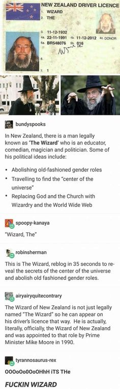 Your country may be great, but does it have a state appointed wizard<<< I wish to meet this man Dankest Memes, Funny Memes, Hilarious, Jokes, Lol, A Silent Voice, The More You Know, Cool Stuff, Random Stuff