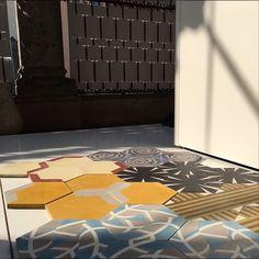 Meus ladrilhos da coleção Rua da Carioca expostos na Universidade. De Design aqui em Milão durante a semana do design #decor #design #decoration #designdeinteriores #fabiogaleazzo #galeazzodesign #milan #milao #milano #milan2015 #milao2015 @casaejardim #MilaoEmCasaeJardim
