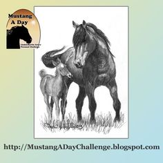 Kissy, Orphan Foal of Sand Wash Basin Challenge Painting #406