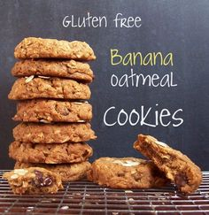 Remembrance of Cookies Past: Banana Oatmeal