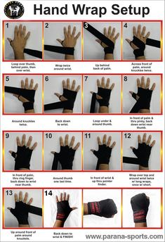 Hand wrap Setup! Easy way to wrap your hand and get ready for the training ;) Parana Sports​ To Enhance your performance #Fitness - My WordPress Website