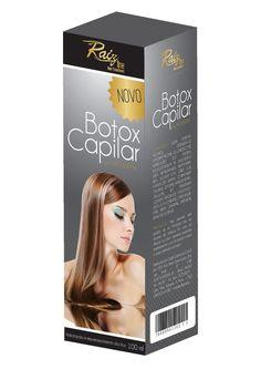 Cliente: Raiz Line Serviço: Criação de embalagem  Produto: Botox Capilar Macadâmia