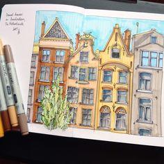 """492 Me gusta, 21 comentarios - Anastasia Bortnikova (@bortik192) en Instagram: """"Испытала свой новый #leuchtturm1917 он потрясающий!!! Бумага такая гладкая и белая #art #drawing…"""""""