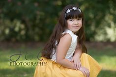 Beautiful Model for Precious Headband from Muffin tops and Tutus!