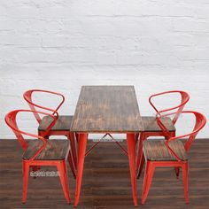 Sen Vatican American Iron wood color retro casual creative outdoor cafe tables and chairs restaurant tables and chairs combination