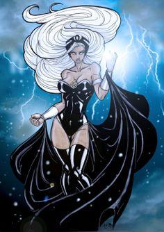 Comics Forever, Storm// artwork byMatthewSkipworth(2011)