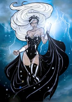 Comics Forever, Storm // artwork by Matthew Skipworth (2011)