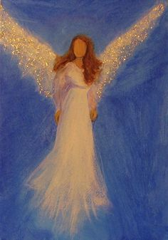 Original Angel Painting Healing Energy by Breten Bryden BrydenArt.com