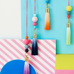 Brighten up a bedroom with your own, personal jewelry. Why not try hanging your favourite items damage-free using commandstrips.co.uk