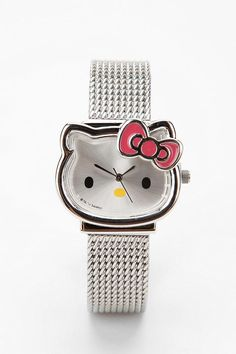 be65197cc Watch this cute hello kitty watch | Love #HelloKitty Hello Kitty Jewelry, Hello  Kitty