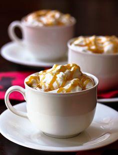 Toffee Caramel Latte from Battery Park Book Exchange  via aspicyperspective.com