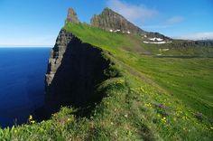 Hornbjarg, Iceland ...