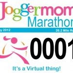Joggermom Marathon: Run 26.2 miles during the month of May. This race has the best prizes by far. If you are after a jogging stroller we gave away 5 this year along with over 100 other prizes. Prize winner or not, everyone is a winner!