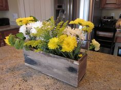 Our Adventures in Home Improvement: Make a Rustic Old Box using a New Fence Board