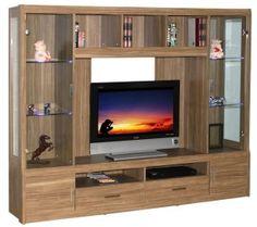 Edtante d tv Wooden Sofa Designs, Tv Wall Design, Wall Unit Designs, Black Bedroom Furniture, Living Room Wall Units, Cabinet Design, Living Room Tv Unit Designs, Wall Tv Unit Design, Living Room Tv Wall
