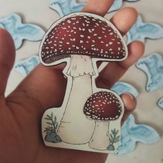 New characters of the Mulberry Chronicles are getting ready for their debut. In the meantime we are finishing the final installment of Celestial Pegasus and a special giant toadstool  He turned out bigger than his siblings and towers over the forest floor!  #mulberrychronicles #illustration #otomekei #vintage #Melbourne #handmade #lolitafashion