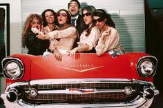 Un photocall inspirado en Grease / A Grease inspired photobooth