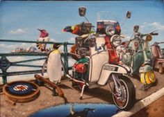 We Are the Mods by Alberto MARTINEZ Limited Edition Print