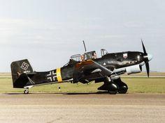 Junkers Ju-87 Stuka. Bomber Plane, Jet Plane, Ww2 Aircraft, Fighter Aircraft, Military Aircraft, Image Avion, Propeller Plane, Avion Planes, Luftwaffe