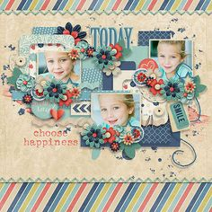 #papercraft #scrapbook #layout More