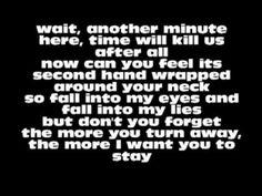 Evans Blue- Cold but I'm still here lyrics