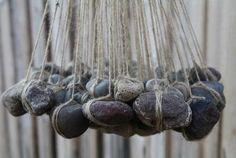 Bijzondere verzameling stenen als decoratie waar dan ook in of rond het huis
