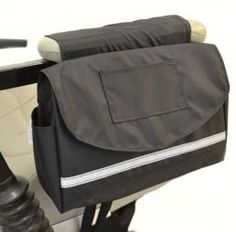 Storage Armrest Deluxe Saddle Bag for Scooter or Power Wheelchair + FREE TRAVEL FIRST AID KIT Challenger Mobility http://smile.amazon.com/dp/B00AYIN0C8/ref=cm_sw_r_pi_dp_jWzRtb1X90ES3MPK