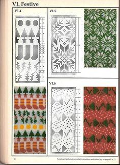 Машинное вязание - жаккард Машинное вязание - жаккард #39