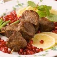 Шашлык из маринованной говядины «Бастурма» - рецепт с фото
