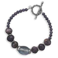 Amethyst Toggle Bracelet LE1152-8 | I Love Bracelets