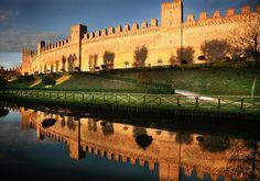 Medieval City of Cittadella, Padova, Italy