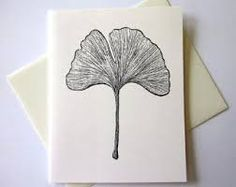Decided to use the Gingko leaf as my Motif for the Save the Dates.  Going to draw my own version.