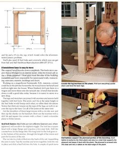 Heavy Duty Workbench Plans - Workshop Solutions Projects, Tips and Tricks - Woodwork, Woodworking, Woodworking Plans, Woodworking Projects
