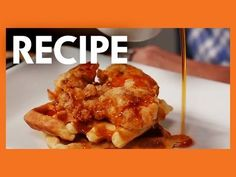 Buttermilk Fried Chicken and Waffles Recipe that is going to blow your mind!