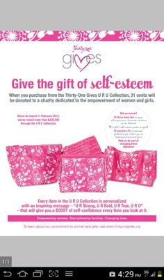 Thirty One Gives !!!