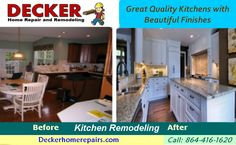 Decker Home Can Provide The Services You Need To Remodel Your Kitchen E In Greer Sc We Have A Full Handyman Service Handle All Items On