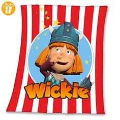 Wickie und die starken Männer Fleecedecke Wickie aus Polyester130x160 cm (*Partner-Link)