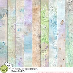 Art Therapy : Mixed Media Papers