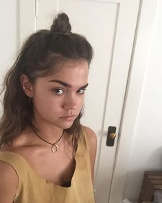 Found this #sweaty pic from when I was mad about the #humidity. Maia Mitchell