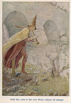 River - The Pied Piper of Hamelin by Robert Browning, 1912