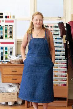 Marilla Walker Roberts Collection View C dress bib dress smock dress pattern