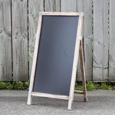 Medium Self Standing Rustic Chalkboard from My Wedding Store