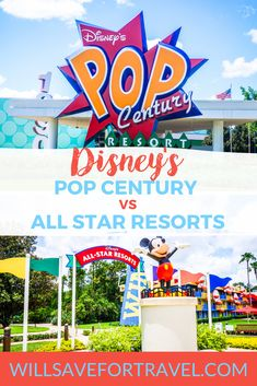 When picking your value resort at Disney World, you might wonder how Pop Century compares to the All Star Resorts. I break it down for you. Disney World Planning, Disney World Vacation, Disney Vacations, Disney Trips, Disney Travel, Cruise Vacation, Disney Cruise, Best Disney Restaurants, Disney World Resorts