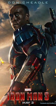 Iron Man 3 (2013), James Rhodes, Iron Patriot